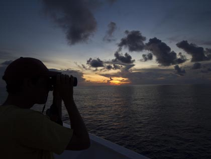 At Sea towards Andaman Islands